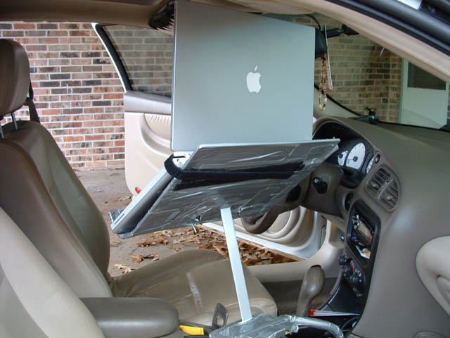 Homemade Projects Car Laptop Stand